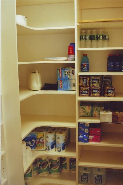 Pantries, Toy Closets, Utility Closets
